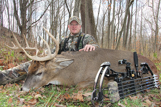 Jesse Gets Whitetail Fix in Indiana